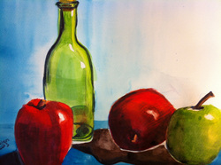 Still Life Using Complementary Colors
